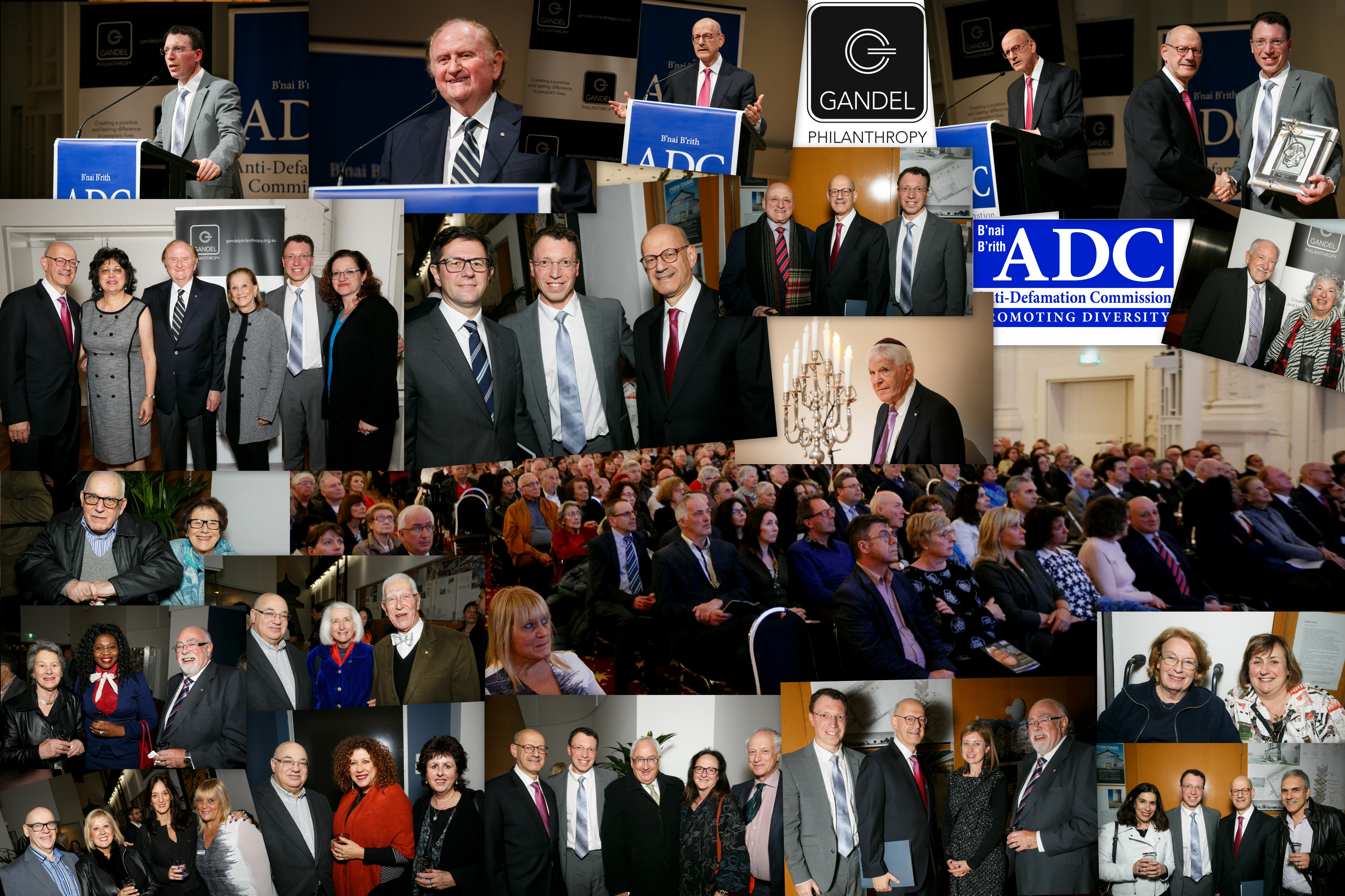 2016 Oration Collage with Dan Mariaschin